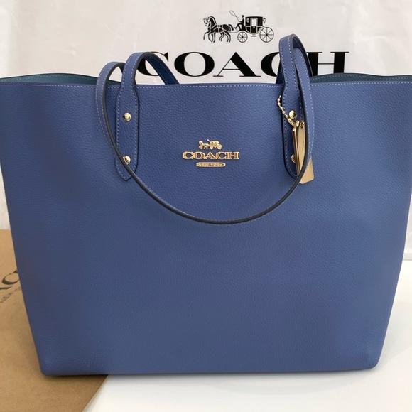 Coach Handbags - Coach brand new beautiful color tote bag